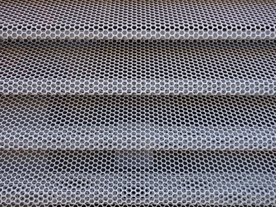 grilles métalliques