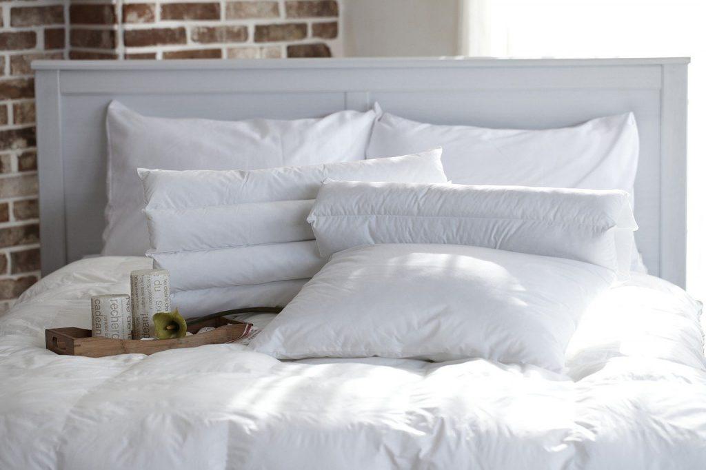 oreiller pour genoux